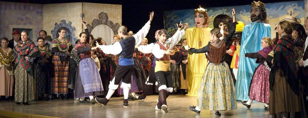 """La Zarzuela """"Gigantes y cabezudos"""" y un ciclo de Música Sacra abren la programación cultural del mes de marzo en Las Rozas"""