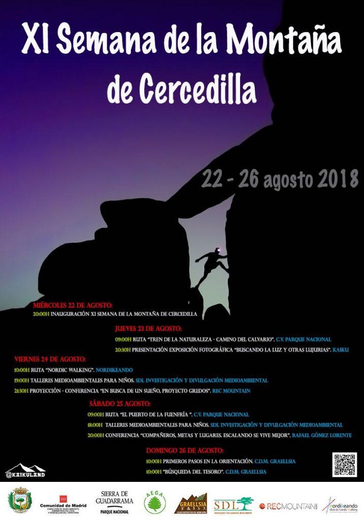 Cercedilla celebra XI Semana de Montaña a partir del 22 de Agosto