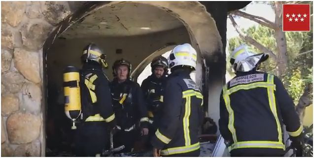 Fallece el hombre que resultó herido de gravedad el pasado mes de Junio en la explosión de una vivienda en Guadarrama
