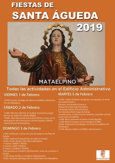 MATAELPINO CELEBRA LAS FIESTAS DE SANTA ÁGUEDA