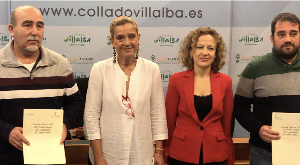 NUEVO CONVENIO CON PERSONAL LABORAL EN COLLADO VILLALBA