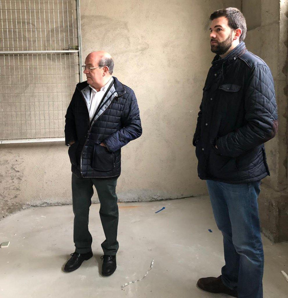 ADECUACIÓN DE LOS NUEVOS ALMACENES EN DEPENDENCIAS DE LA POLICÍA LOCAL