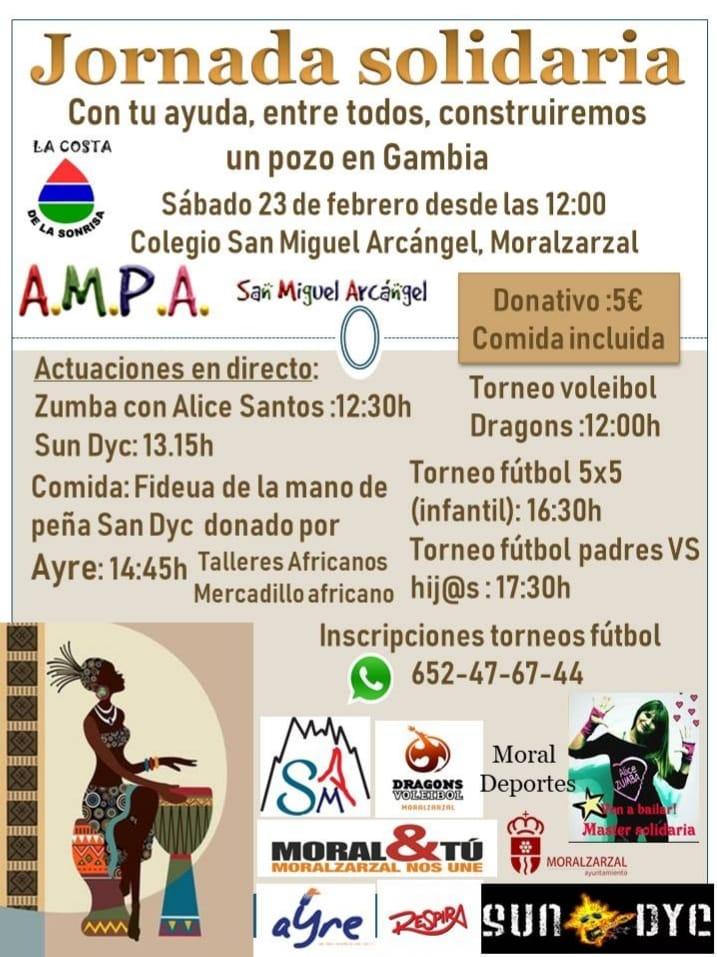 HOY POR HOY SIERRA. ACTO SOLIDARIO EN MORALZARZAL EL 23 DE FEBRERO