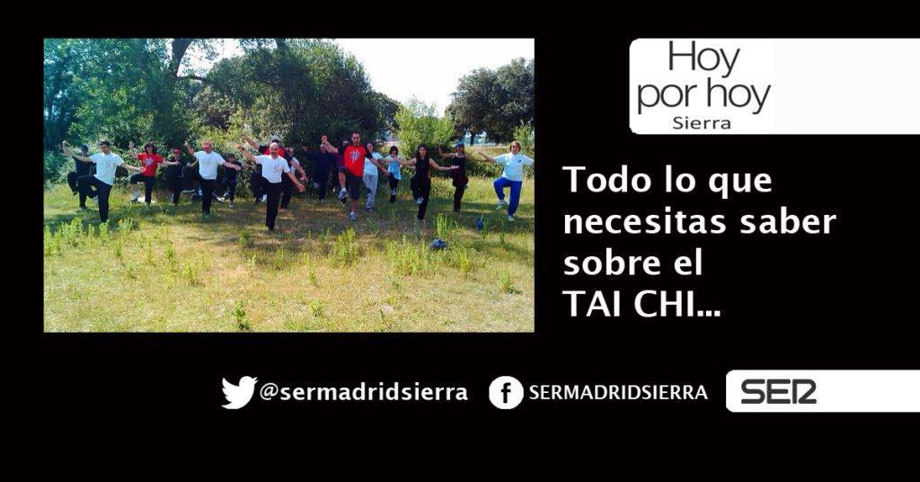 HOY POR HOY SIERRA. EL TAI-CHI EXPLICADO POR CLAUDIA TAMAYO