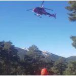 BOMBEROS DEL GERA RESCATAN A UN JOVEN ACCIDENTADO EN EL CAMINO SCHMIDT