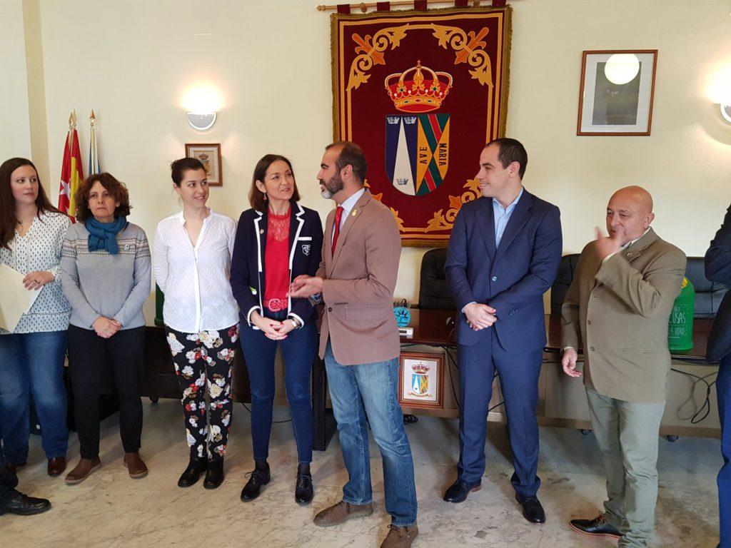LA MINISTRA DE TURISMO VISITA EL BOALO, CERCEDA Y MATAELPINO