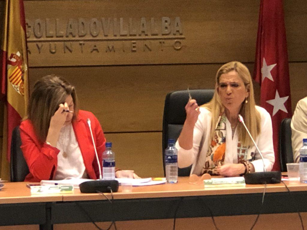 EL AYUNTAMIENTO DE COLLADO VILLALBA DENUNCIA A LA CONCEJAL DEL PP, MARÍA DEL MAR GIL