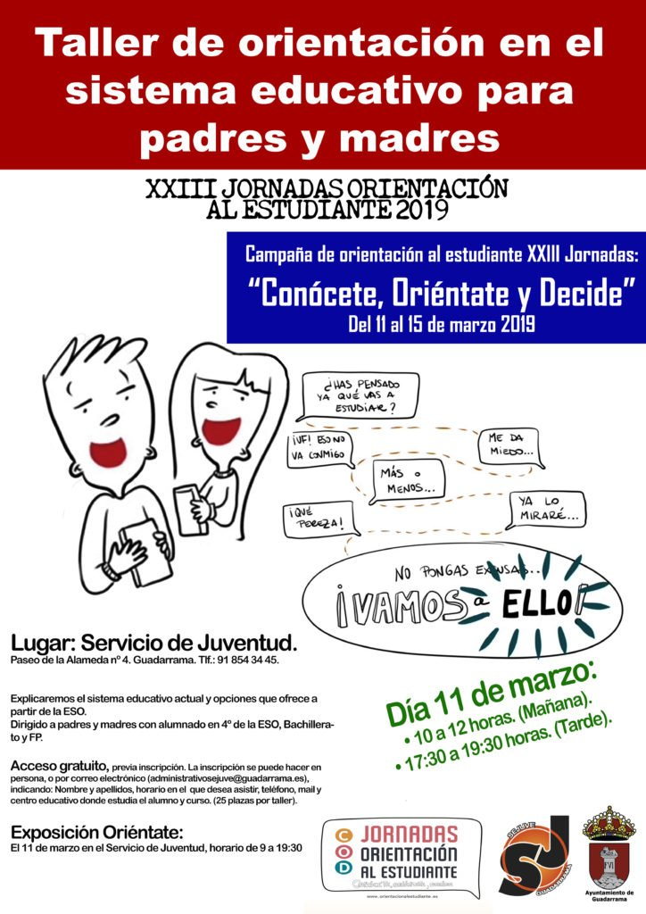 JORNADAS DE ORIENTACIÓN AL ESTUDIANTE EN GUADARRAMA