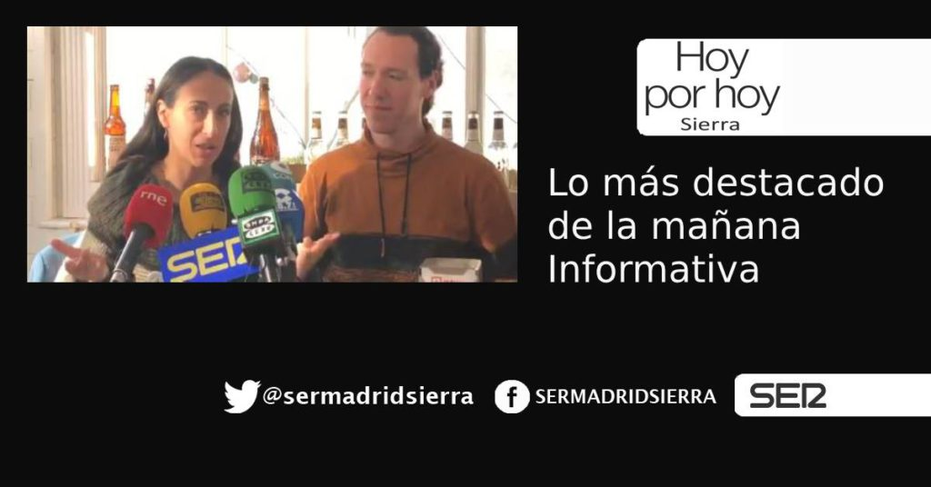 HOY POR HOY SIERRA. RESUMEN INFORMATIVO DE LA MAÑANA