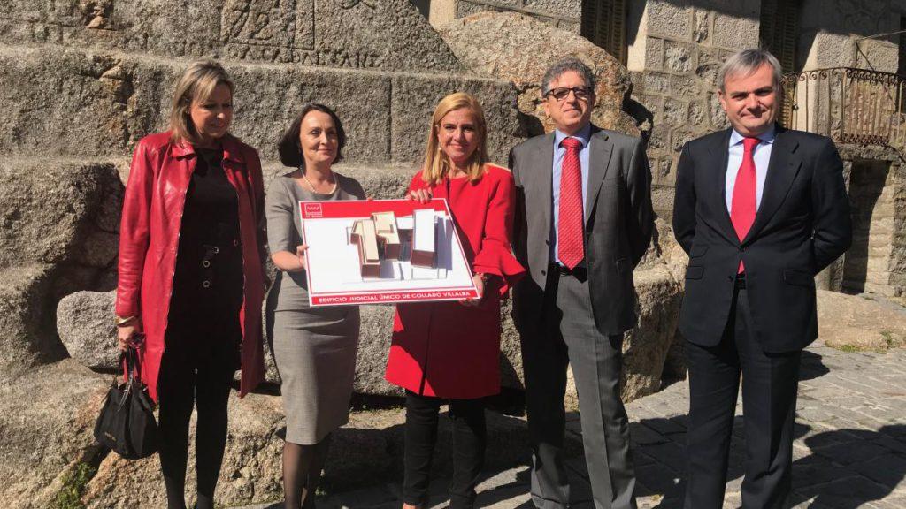 6 MILLONES DE EUROS PARA AMPLIAR Y UNIFICAR LOS JUZGADOS DE COLLADO VILLALBA
