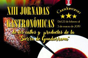 LA ALCALDESA DE GUADARRAMA, CARMEN MARÍA PÉREZ DEL MOLINO, INAUGURARÁ EL VIERNES LAS XIII JORNADAS GASTRONÓMICAS DE GUADARRAMA
