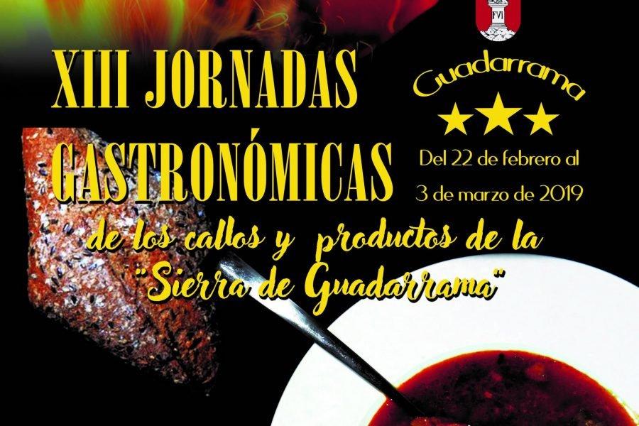 INAUGURADAS LAS XIII JORNADAS GASTRONÓMICAS DE GUADARRAMA HASTA EL 3 DE MARZO