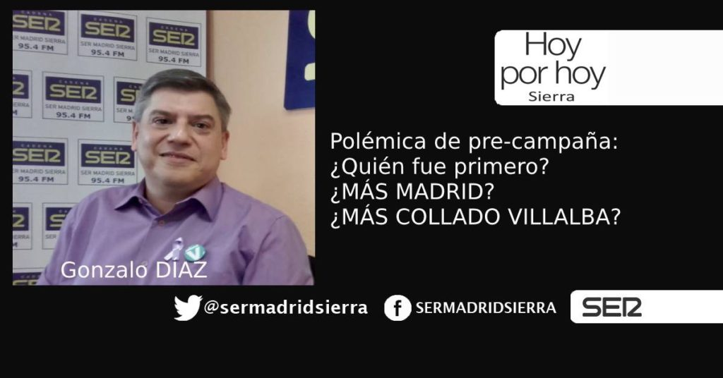 HOY POR HOY SIERRA. POLÉMICA ENTRE DOS PARTIDOS POR EL NOMBRE