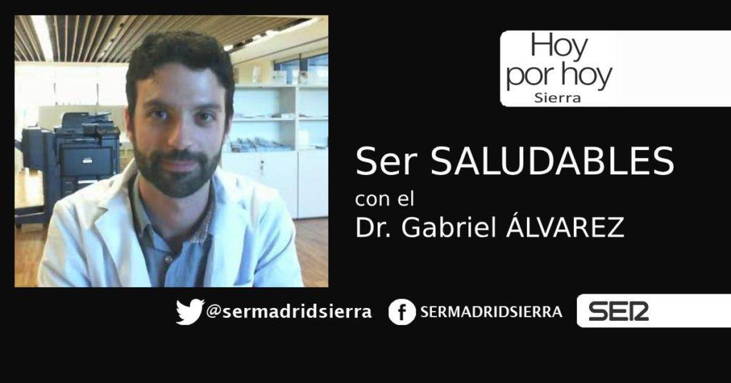 HOY POR HOY SIERRA. SER SALUDABLES. CON EL DOCTOR GABRIEL ALVAREZ