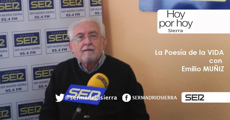 HOY POR HOY. LA POESIA DE LA VIDA CON EMILIO MUÑIZ