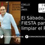 HOY POR HOY SIERRA. ANTONIO COELLO Y LA FIESTA PARA LIMPIAR EL RÍO