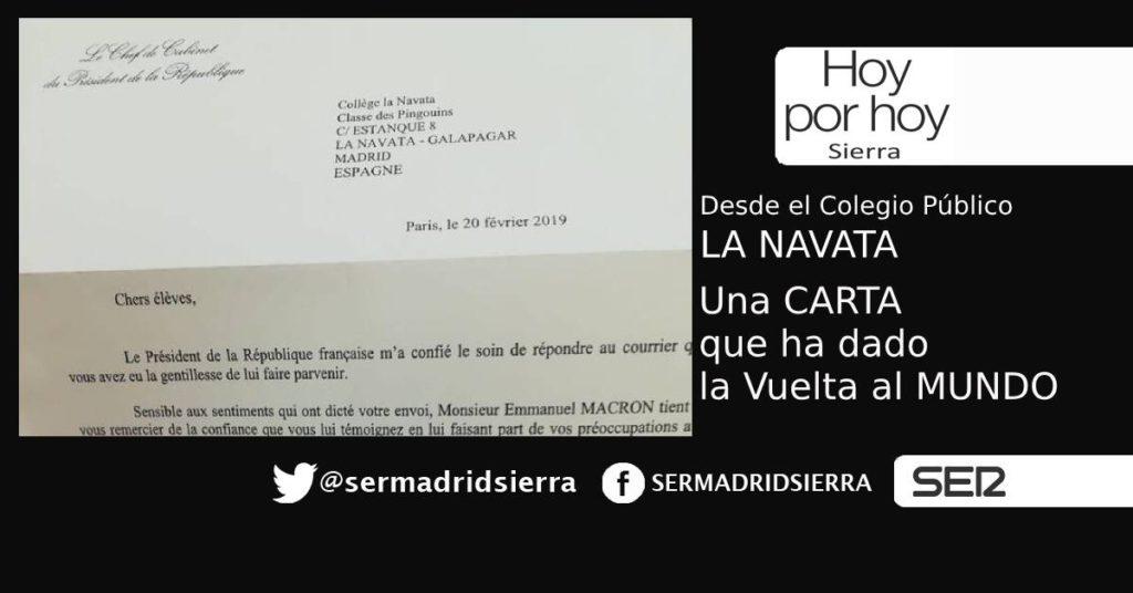 HOY POR HOY SIERRA. LAURA ORTEGA, DIRECTORA DEL COLEGIO LA NAVATA