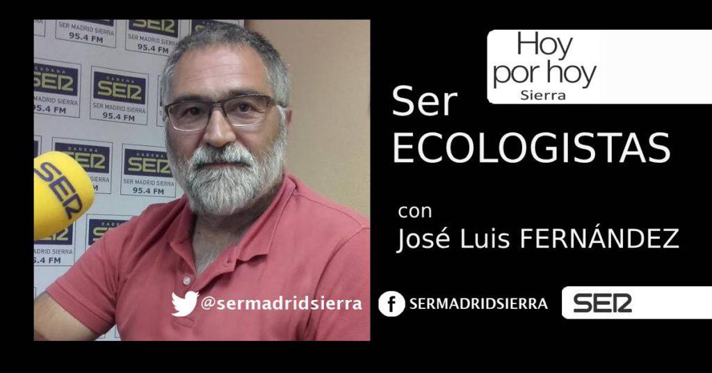 HOY POR HOY SIERRA.SER ECOLOGISTAS CON EL AGUA