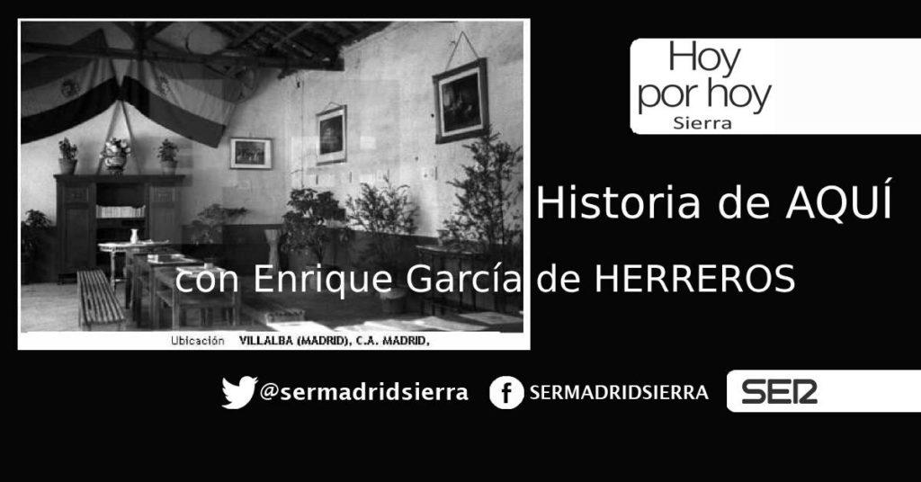 HOY POR HOY SIERRA. HISTORIA DE AQUÍ