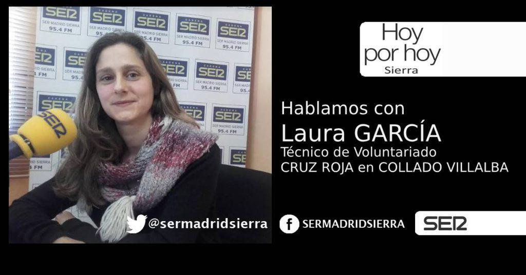 HOY POR HOY SIERRA. LAURA GARCIA Y LA LABOR DE CRUZ ROJA