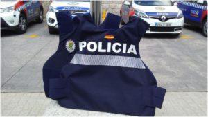 LOS POLICÍAS DE GALAPAGAR ESTRENAN NUEVOS CHALECOS ANTIBALAS DE ÚLTIMA GENERACIÓN