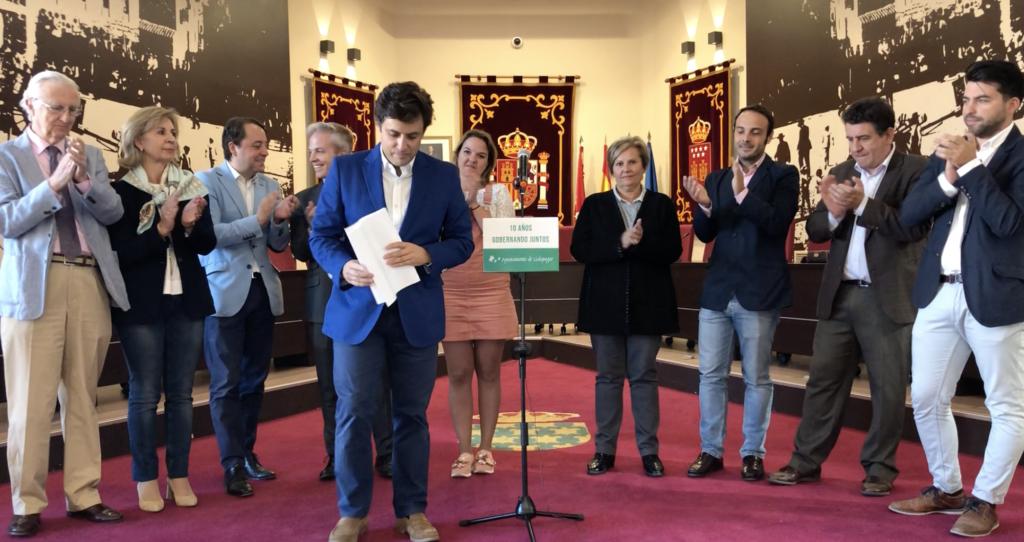 DANIEL PÉREZ MUÑOZ NO SERÁ CANDIDATO A LA ALCALDÍA DE GALAPAGAR EN LOS COMICIOS DE MAYO