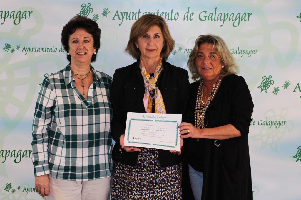 GALAPAGAR FIRMA UN CONVENIO CON LA ASOCIACIÓN ESPAÑOLA CONTRA EL CÁNCER