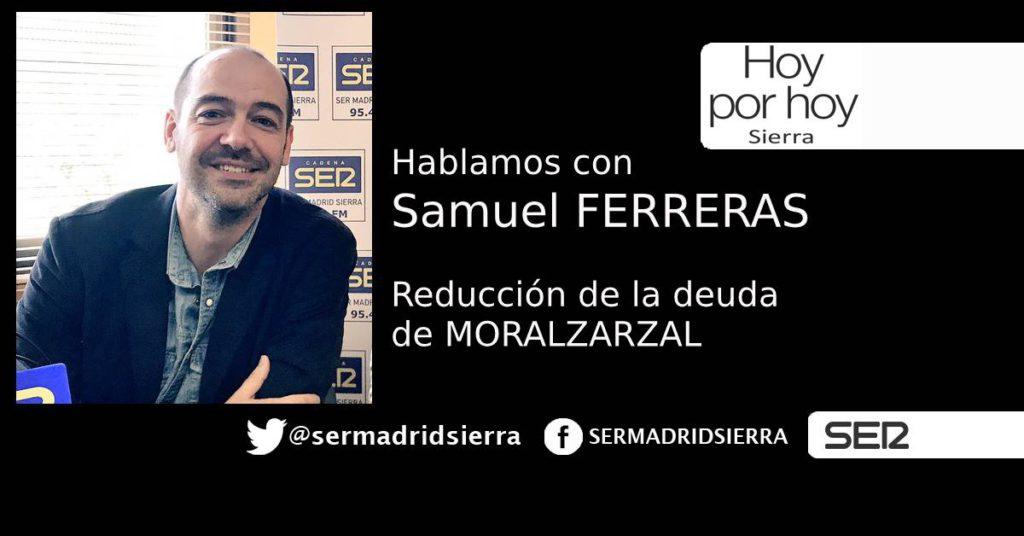 HOY POR HOY SIERRA. SAMUEL FERRERAS Y LA REDUCCIÓN DE DEUDA