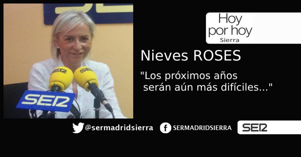 HOY POR HOY SIERRA. NIEVES ROSES, A REVALIDAR LA ALCALDÍA DE COLMENAREJO