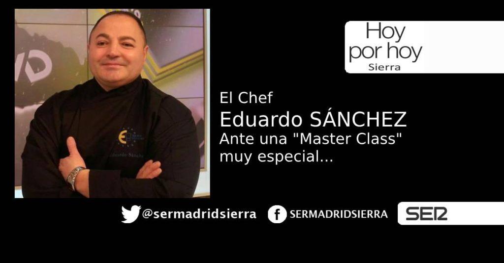 HOY POR HOY. EL RETO DE EDUARDO SÁNCHEZ