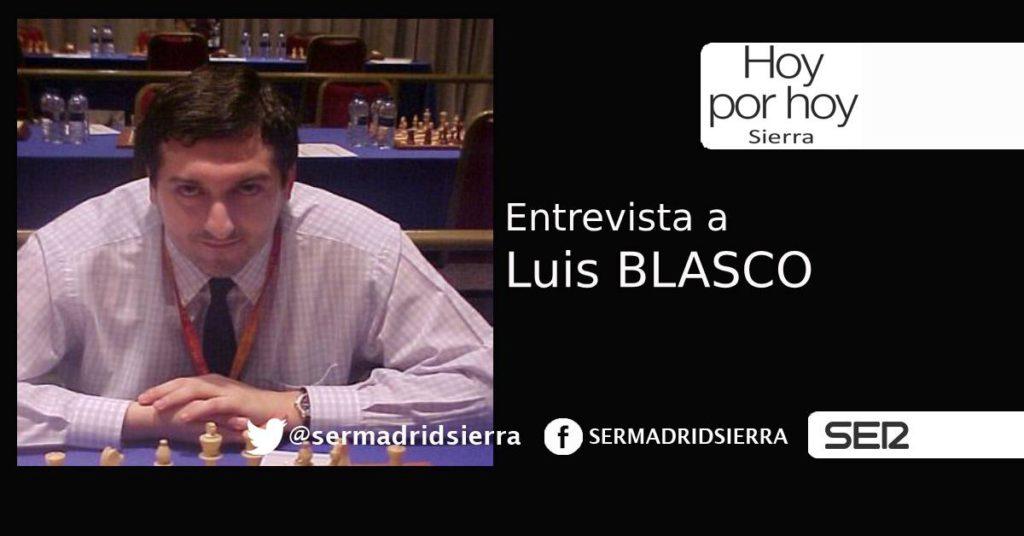 HOY POR HOY SIERRA. ENTREVISTA A LUIS BLASCO