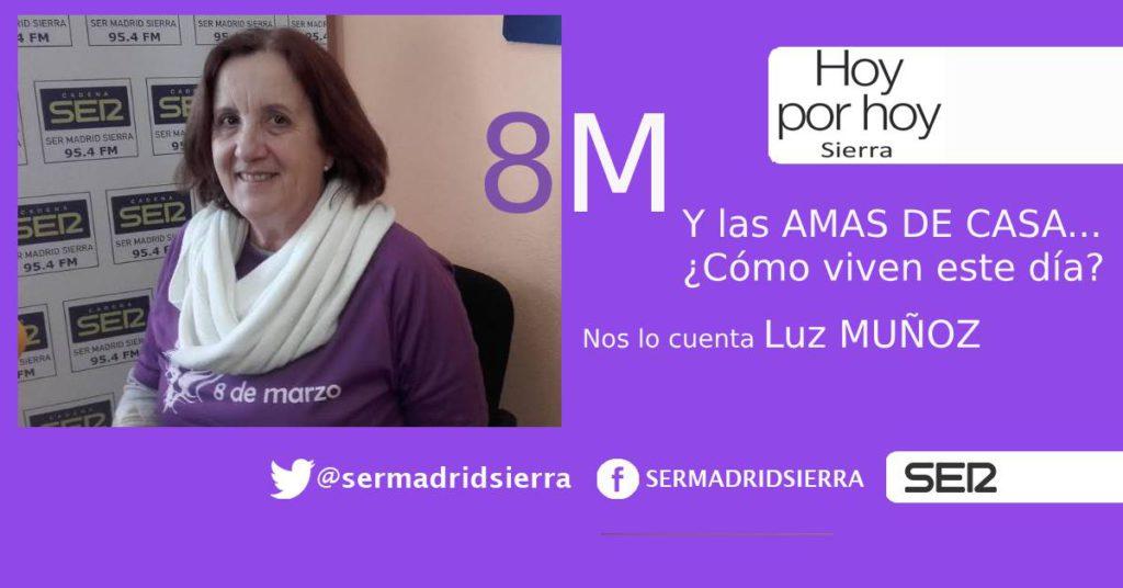 HOY POR HOY SIERRA. AMAS DE CASA Y 8 M