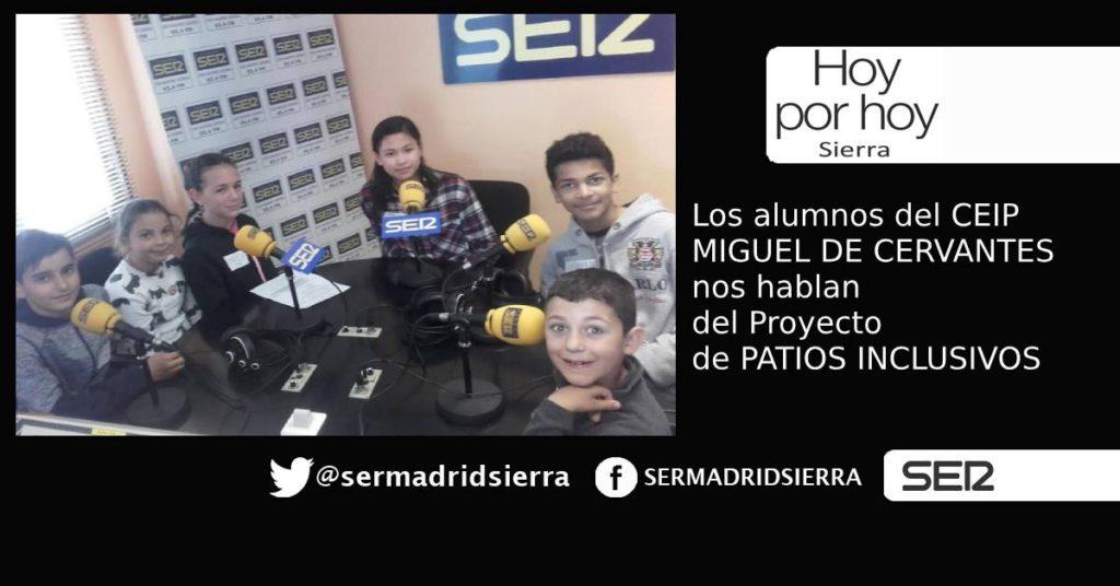 HOY POR HOY SIERRA. PROYECTO DE PATIOS INCLUSIVOS
