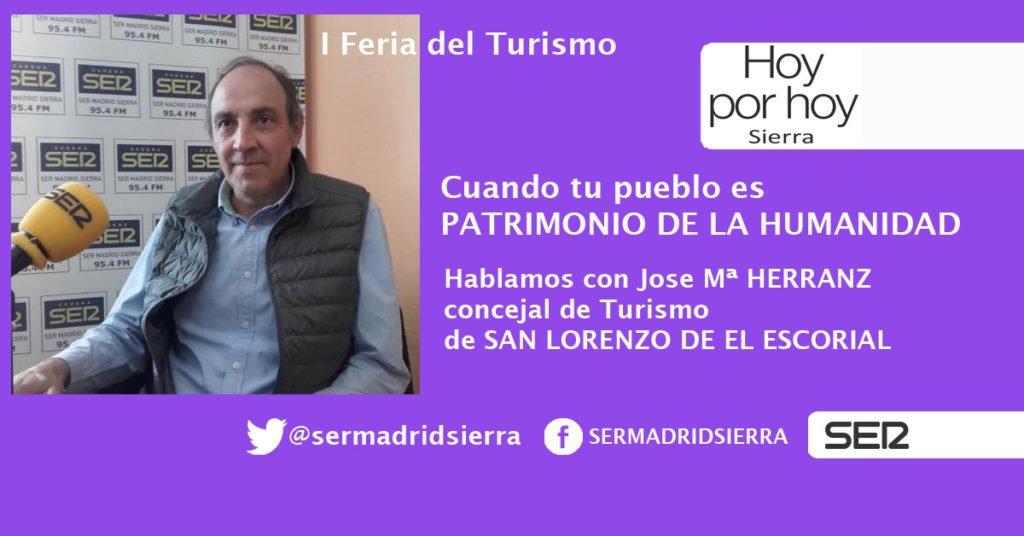 HOY POR HOY SIERRA. SAN LORENZO DE EL ESCORIAL EN LA I FERIA DEL TURISMO