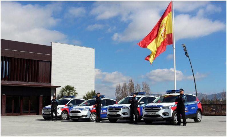 OPERATIVOS DESDE HOY EN GALAPAGAR CUATRO COCHES PATRULLA DE POLICÍA LOCAL