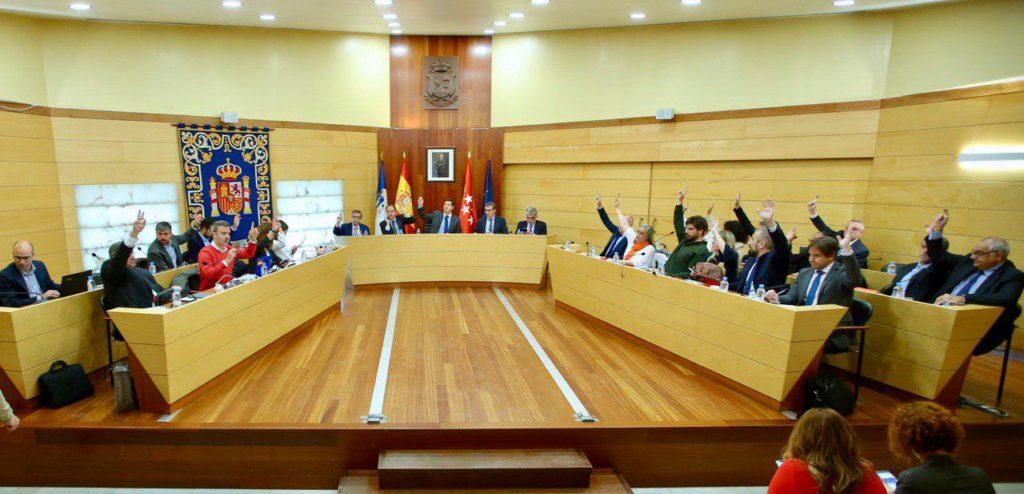 El pleno de Las Rozas aprueba la concesión para una zona  comercial en La Marazuela