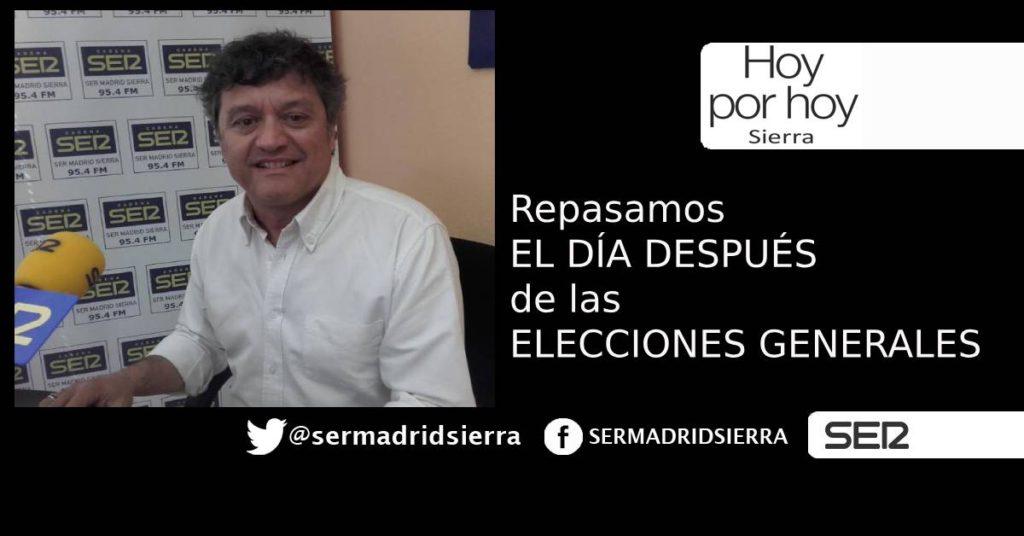 HOY POR HOY. ANALIZAMOS EL DÍA DESPUÉS DE LAS ELECCIONES