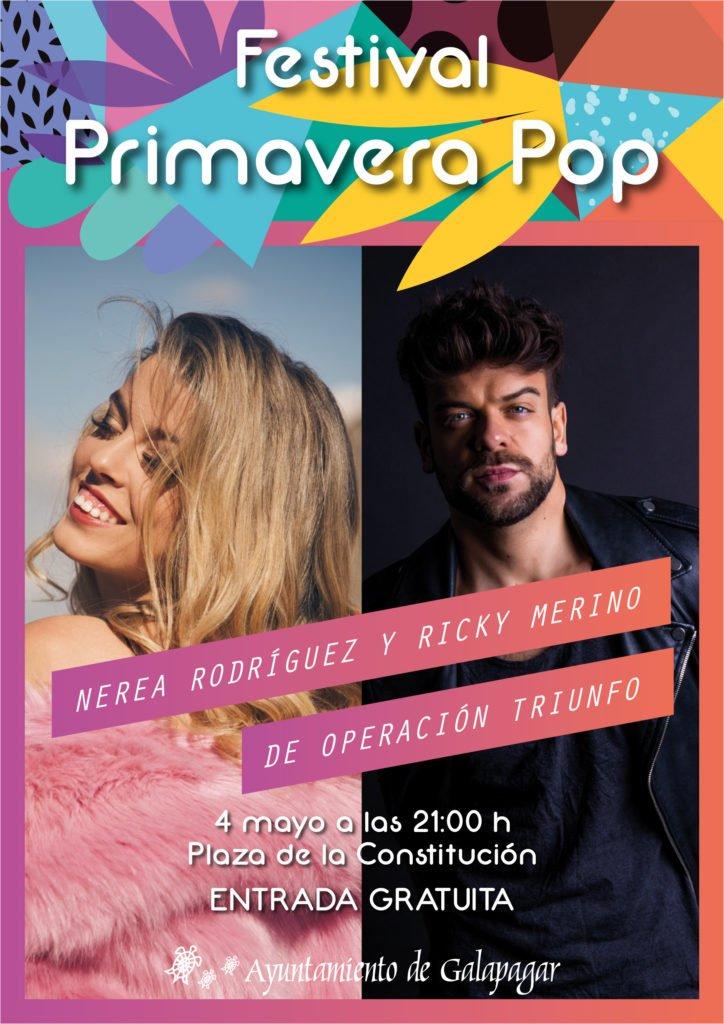 NEREA RODRÍGUEZ, RICKY MERINO Y LOS CHUNGUITOS EN EL FESTIVAL PRIMAVERA POP DE GALAPAGAR