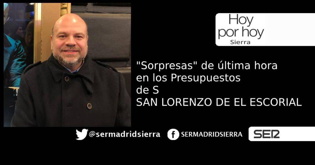 HOY POR HOY. CAMBIOS EN EL PRESUPUESTO DE SAN LORENZO