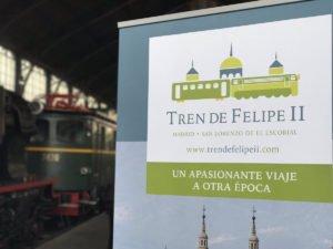 EL TREN DE FELIPE II INCLUYE DESDE ESTE MES VISITAS A EL ESCORIAL