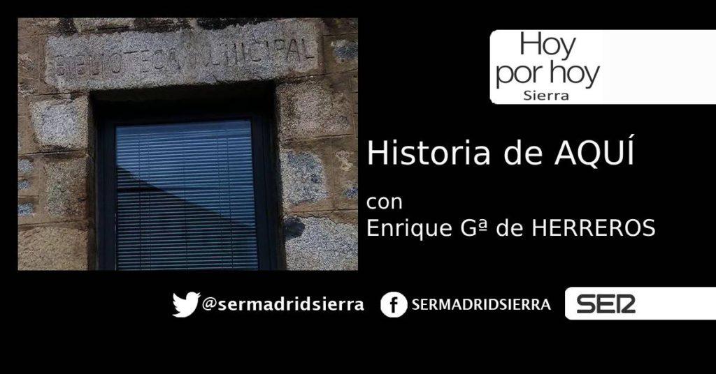 HOY POR HOY. HISTORIA DE AQUI. LA HISTORIA DE LA BIBLIOTECA