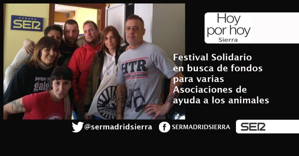 HOY POR HOY. FESTIVAL SOLIDARIO CON ASOCIACIONES DE AYUDA A LOS ANIMALES