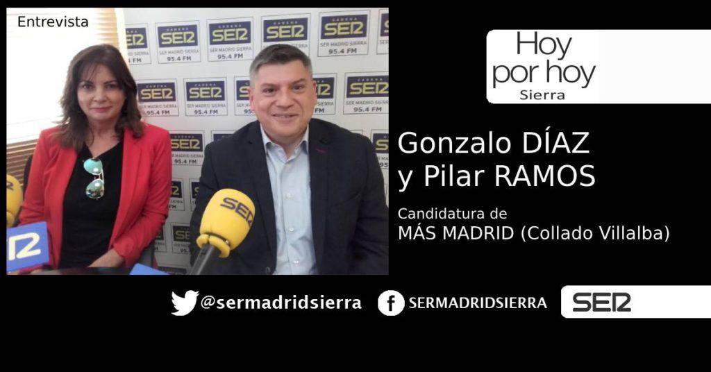 HOY POR HOY. CON GONZALO DÍAZ, CANDIDATO MÁS MADRID C. VILLALBA