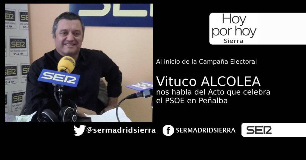 HOY POR HOY. CON VITUCO ALCOLEA