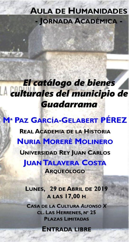 GUADARRAMA CUENTA YA CON UN CATÁLOGO DE BIENES CULTURALES INVENTARIADOS