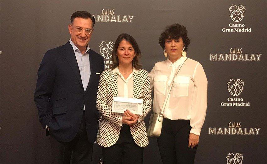 EL CASINO GRAN MADRID ENTREGA AL AYUNTAMIENTO CERCA DE 12.000 EUROS PARA AYUDAS SOCIALES