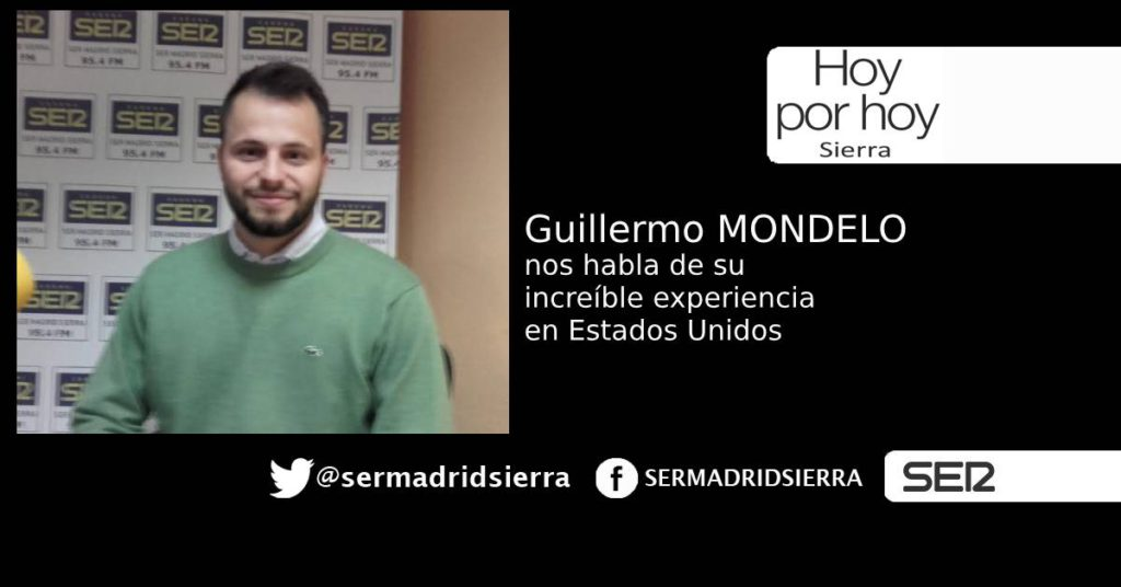HOY POR HOY. GUILLERMO MONDELO NOS HABLA DE SU AVENTURA EN USA