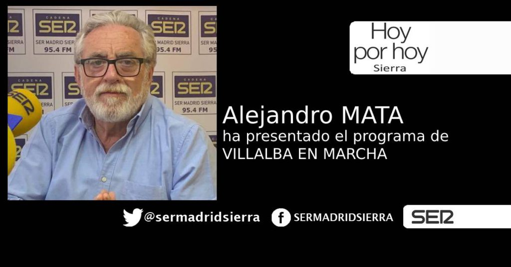 HOY POR HOY. ENTREVISTA CON ALEJANDRO MATA (VILLALBA EN MARCHA)