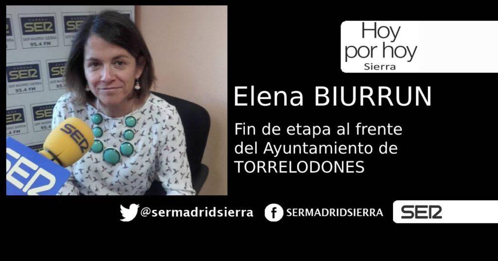 HOY POR HOY. ENTREVISTA A ELENA BIURRUN