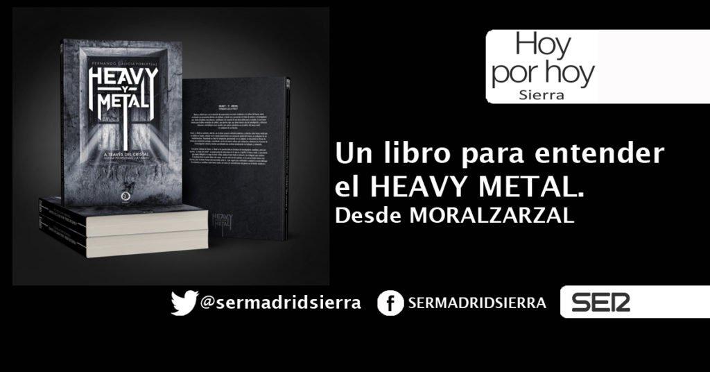 HOY POR HOY. DESDE MORALZARZAL, NUEVO LIBRO SOBRE HEAVY METAL